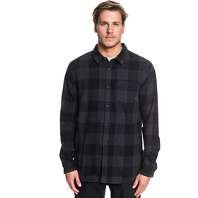 Quiksilver Motherfly Blouse Flanel Heren, black motherfly